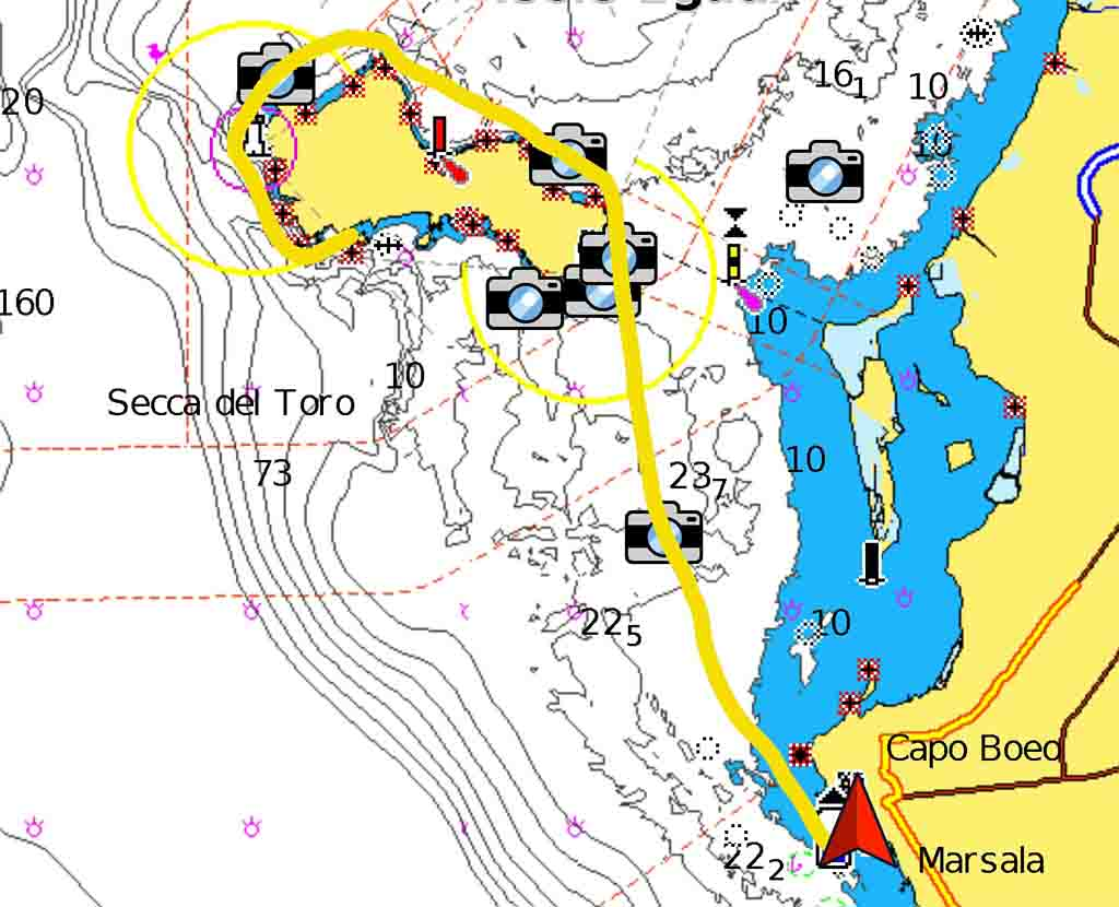 Cala Monaci periplo Sicilia Fontaine Pajot Saba 50 catamarano barca a vela
