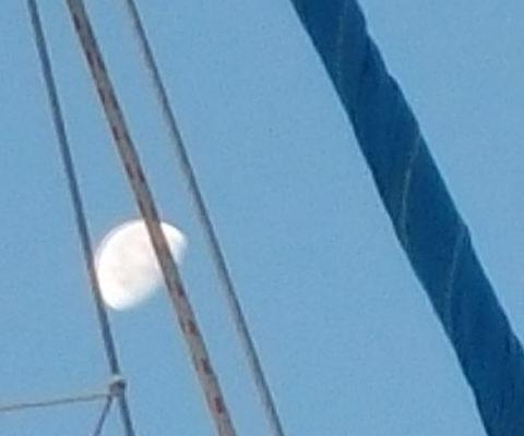 Sciacca Licata luna periplo Sicilia Fontaine Pajot Saba 50 catamarano barca a vela