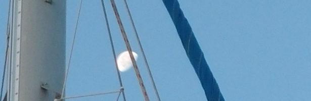 Giornata di vela accompagnati dalla luna