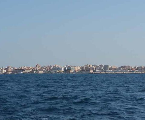 Marsala Sciacca costa periplo Sicilia Fontaine Pajot Saba 50 catamarano barca a vela