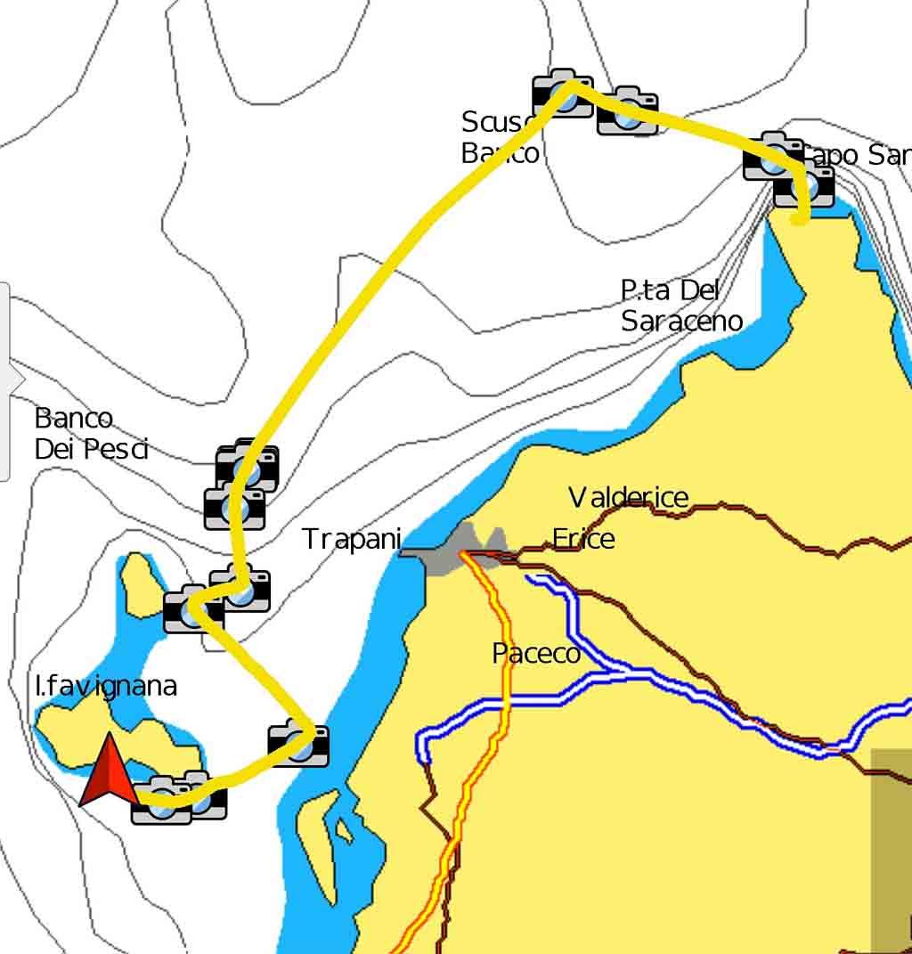 San Vito Lo Capo Cala Tmonaci periplo Sicilia Fontaine Pajot Saba 50 catamarano barca a vela