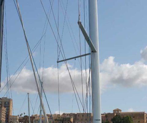 Sciacca porto cumulonembi periplo Sicilia Fontaine Pajot Saba 50 catamarano barca a vela