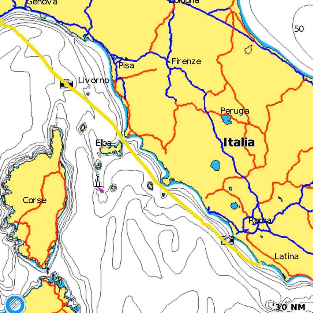 Savona Nettuno rotta Bavaria 42 Cruiser trasferimenti esperienze di vela