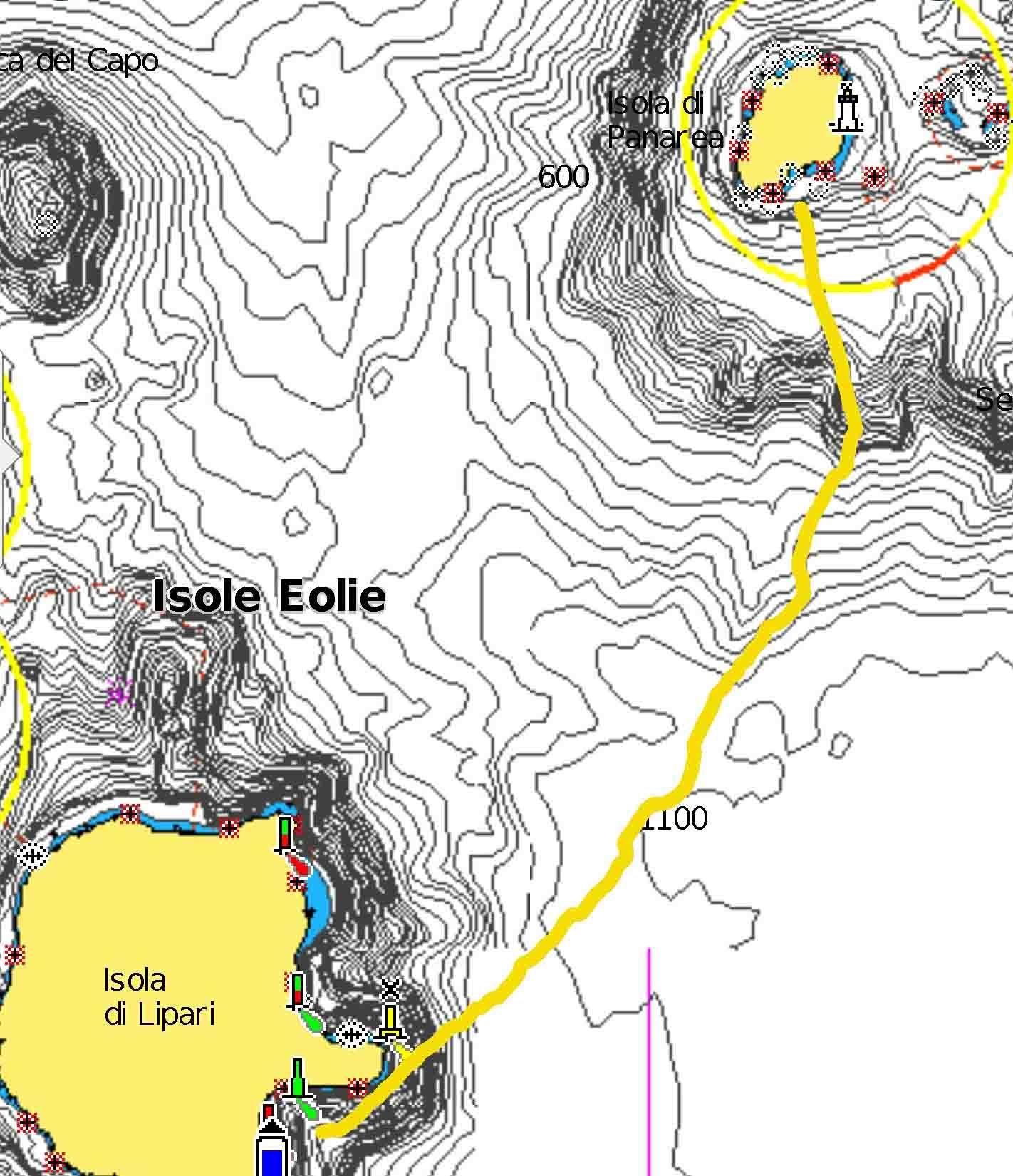 Si può arare anche il mare Marina Corta Cala Zimmari navigando per le Eolie Fontaine Pajot Saba 50 catamarano barca a vela