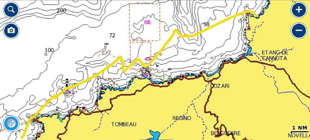 Calvi Corsica timone esperienze di vela uscite in barca vela crociere