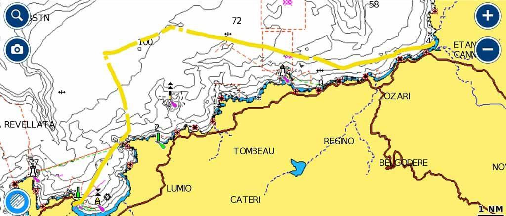 Corsica Anse de Peraiola rotta esperienze di vela uscite in barca vela crociere