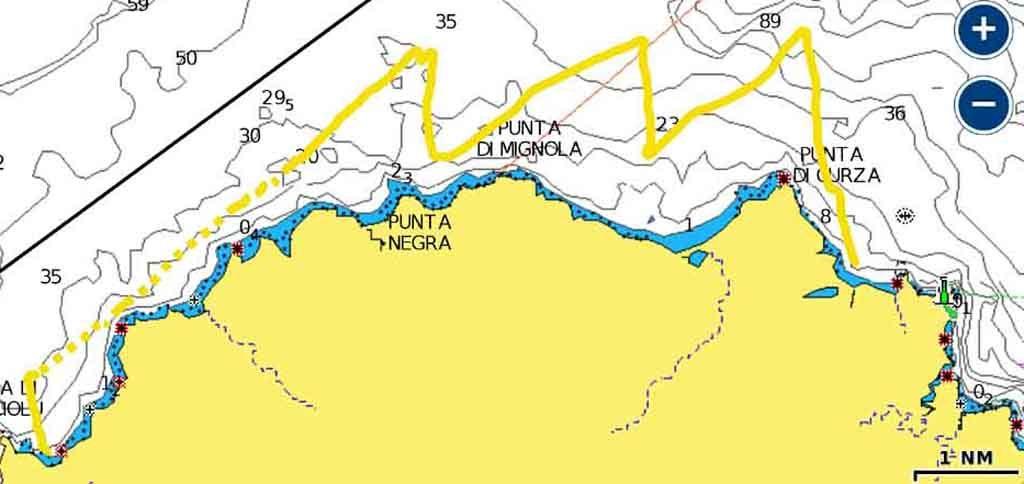 Si veleggia Corsica Cala du Lacciolu rotta esperienze di vela uscite in barca vela crociere