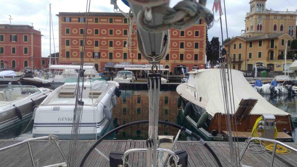 Porto turistico S.Margherita ligure Bavaria 34 Cruiser cinque terre esperienze di vela uscite in barca a vela crociere Varazze
