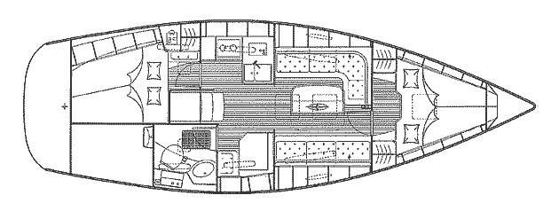 Interni Bavaria 34 Cruiser Esperienze Di Vela