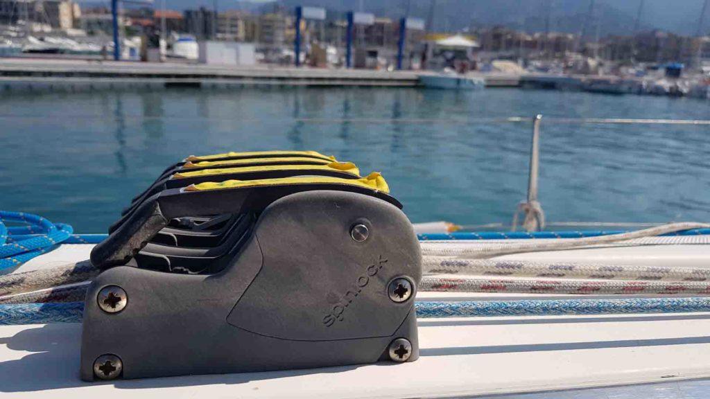Partenza porto Lavagna direzione Portovenere esperienze di vela